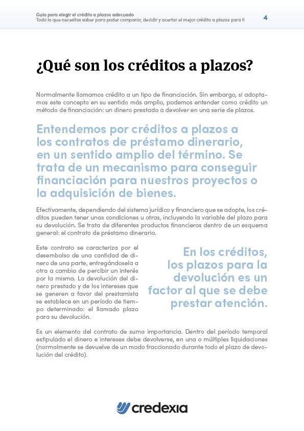 CRE - Créditos a plazos - Portada 2D4