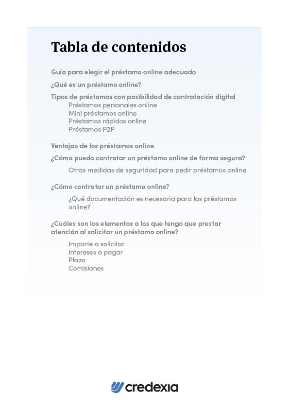 CRE - Préstamos online - Portada 2D2