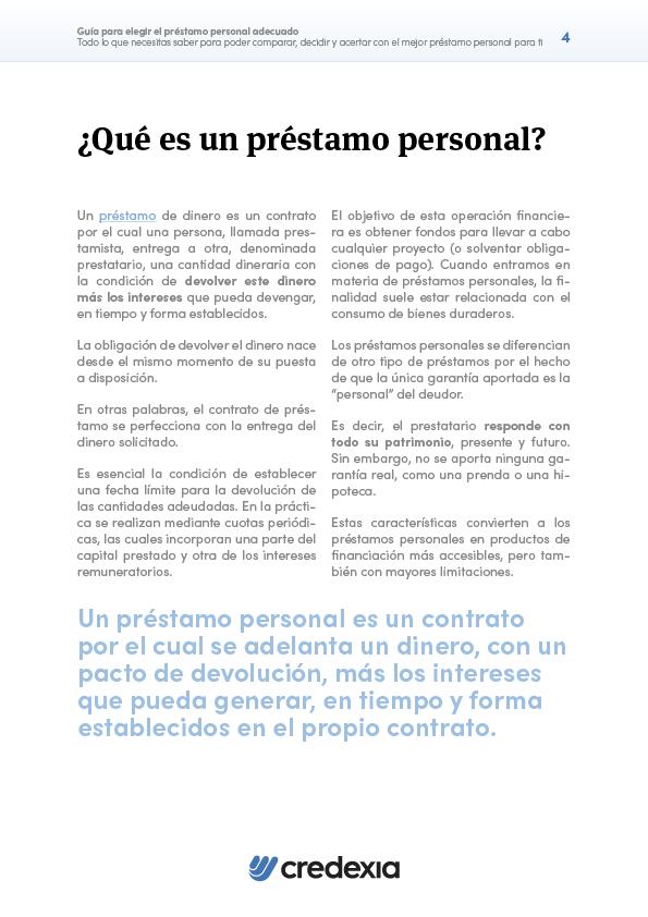 CRE - Préstamos Personales - Portada 2D4